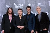 LAS VEGAS - APR 6:  Eli Young Band at the 2014 Academy of Country Music Awards - Arrivals at MGM Gra