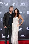LAS VEGAS - APR 6:  Dierks Bentley at the 2014 Academy of Country Music Awards - Arrivals at MGM Gra