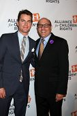 LOS ANGELES - APR 7:  Matt Bomer, Willie Garson at the Alliance for Children�?�?�?�¢??s Rights'