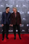 LAS VEGAS - APR 6:  Philip Sweet, Jimi Westbrook at the 2014 Academy of Country Music Awards - Arriv