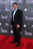 LAS VEGAS - APR 6:  Steve Burton at the 2014 Academy of Country Music Awards - Arrivals at MGM Grand