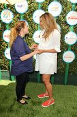 LOS ANGELES - APR 5:  Drew Barrymore, Ciara at the Safe Kids Day Los Angeles 2014 at The Lot on Apri