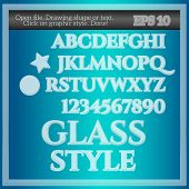 Glass Graphic Style