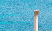 Column And Sea
