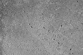 foto of sand gravel  - Smooth concrete surface with cracks or veins and some distress - JPG