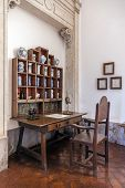 Mafra, Portugal - December 02, 2013: 18th Century Apothecary or Pharmacy in the Mafra National Palac