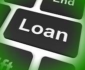 Loan Key Means Lending Or Providing Advance