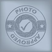 Quality Photo Approved Seal Design