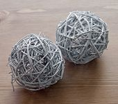 Two Decorative Balls