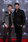 LAS VEGAS - APR 6:  Colton Swon, Zach Swon, The Swon Brothers at the 2014 Academy of Country Music A