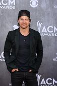 LAS VEGAS - APR 6:  Kip Moore at the 2014 Academy of Country Music Awards - Arrivals at MGM Grand Ga