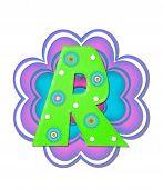 Alphabet Hippy Power R