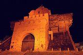 Golden Gates At Night