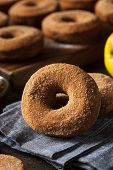 Warm Apple Cider Donuts