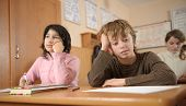 Thoughtful Schoolchildren