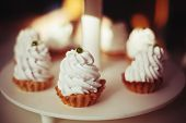 Shortcrust Pastry With Whipped Cream