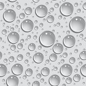 Seamless Background Drops Of Water. Vector