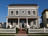 New Two Story Vinyl Home With Historical Look