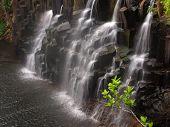 Exotic waterfall