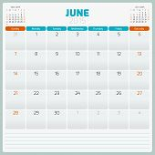 image of august calendar  - Calendar planner 2015 template week starts sunday - JPG