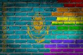 Dark Brick Wall - Lgbt Rights - Kazakhstan
