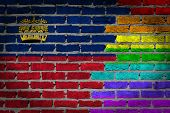 Dark Brick Wall - Lgbt Rights - Liechtenstein