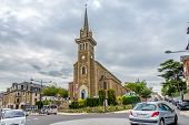 View At Church In Dinard.