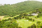 Tropical Golf Course On St Thomas
