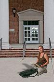 Woman Student