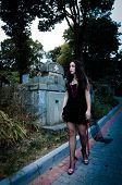 Walking Vampire Portrait