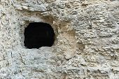 Stone Fortification With A Hole