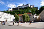 Old Center in Salzburg,Austria