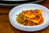 picture of kimchi  - Close up of Kimchi korean food traditional