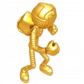 Gold Guy Astronaut