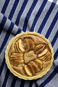 French Apple Tart Cake Sweet Dessert Pie
