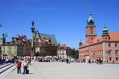 View of Warsaw market square