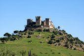 Castle on hilltop, Almodovar del Rio.