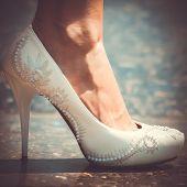 White Shoe Of The Bride
