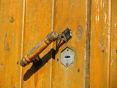 Doorhandle And Keyhole