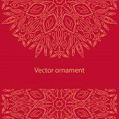 Vector Vintage Ornament