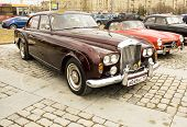 Retro Bentley On Rally Of Classical Cars, Moscow