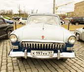 Rally Of Classical Cars, Moscow, Volga Gas 22