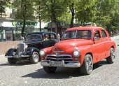 Cars Zaporozhets And Mercedes Benz
