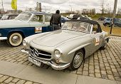 Rally Of Classical Cars, Moscow, Mercedes Benz