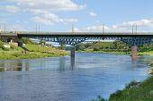 Bridge Over River, Grodno, Belarus