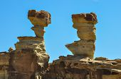 Ischigualasto Rock Formations In Valle De La Luna, Argentina
