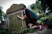 Pretty Vampire Open Crypt