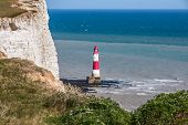 Beachy Head Lighthouse In The Afternoon