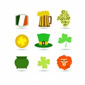 St. Patrick's Day set icon