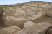 Ruins of Otrar (Utrar or Farab) Central Asian ghost town South Kazakhstan Province Kazakhstan.